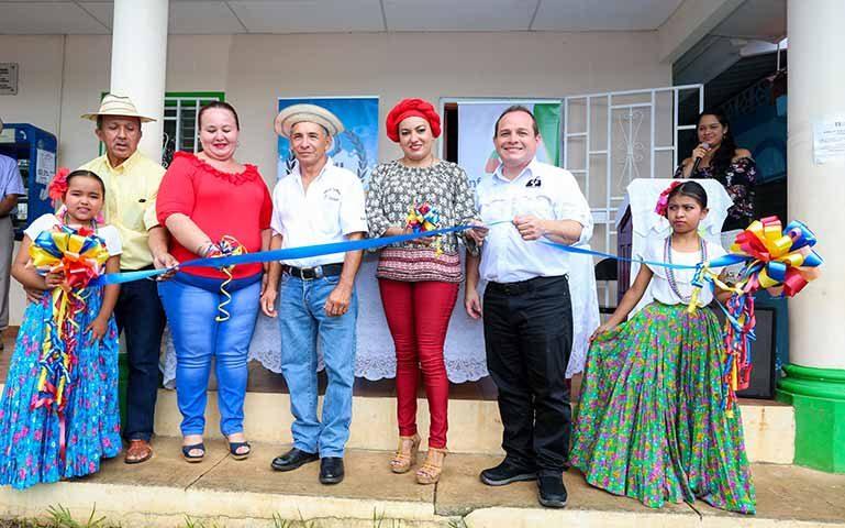 Inauguración de la Infoplaza del Calabacito