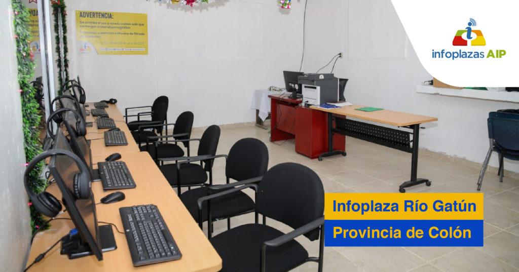 Estudiantes volverán a clases virtuales Infoplaza Río Gatun